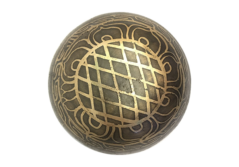 Фото 1 Тибетская поющая чаша, кованая, 10 см