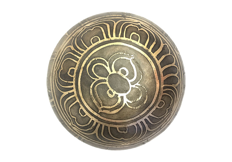 Фото 2 Тибетская поющая кованая чаша 10 см.