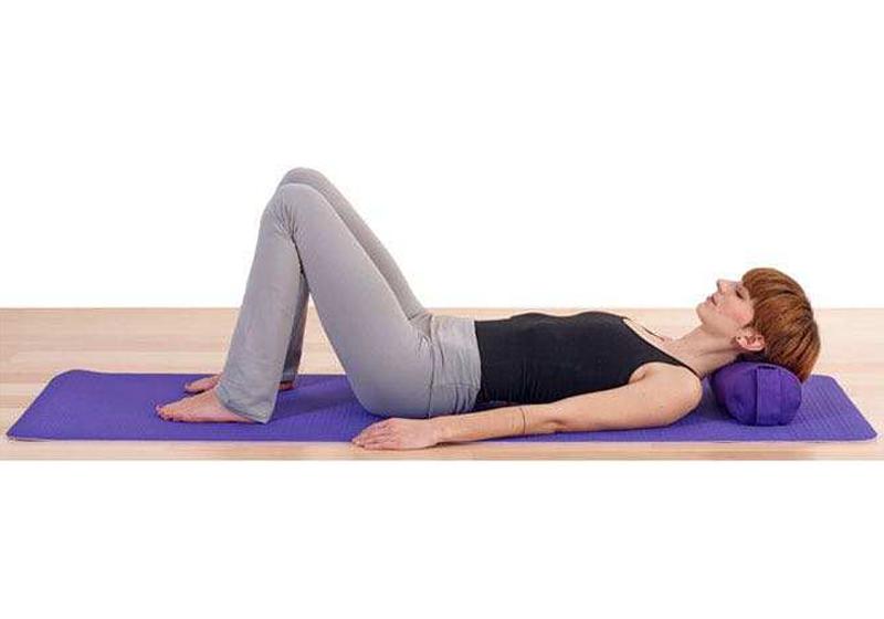 Фото 9 Мини валик для йоги
