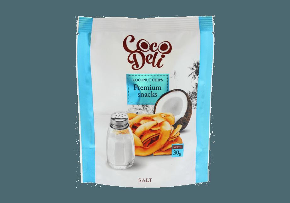 Фото Кокосовые чипсы солёные 30 г