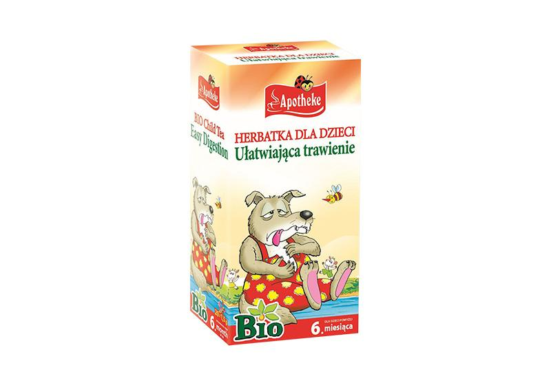 Фото Детский чай для улучшения пищеварения 20х1,5