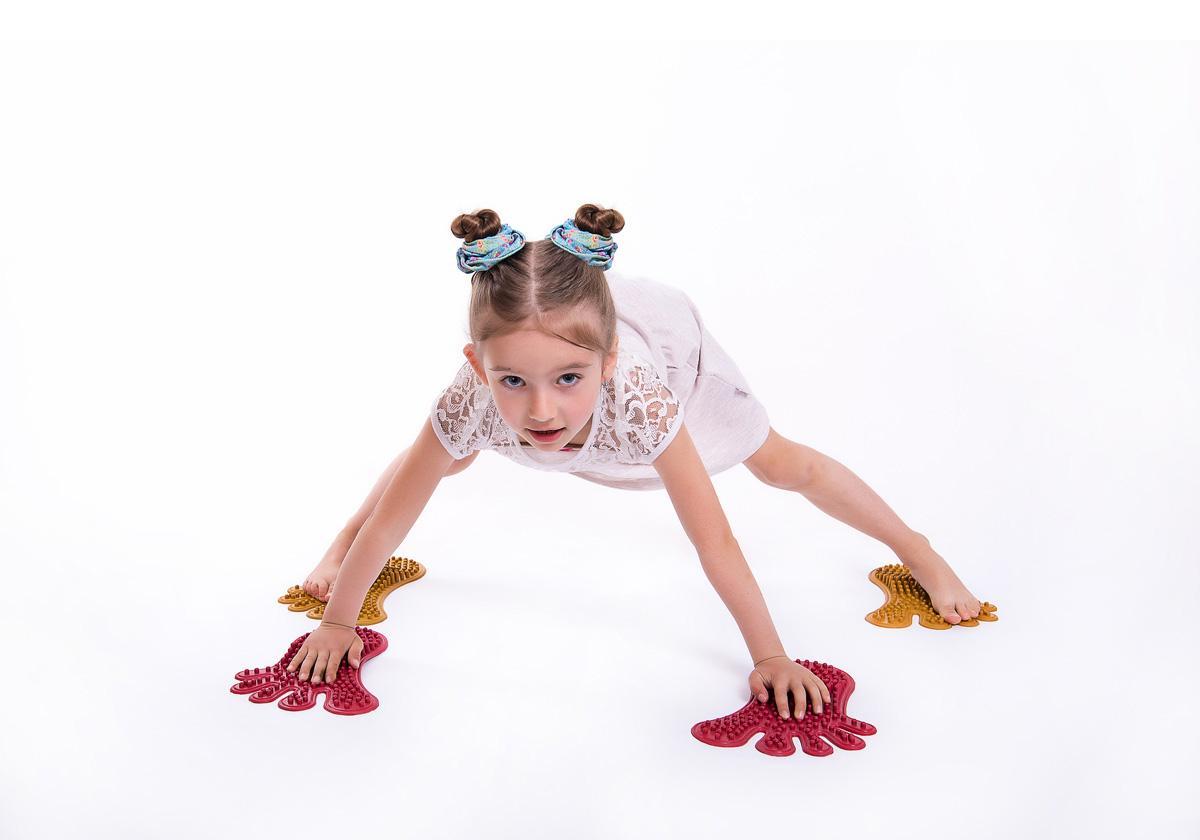 """Фото 7 Коврик массажный для ног """"Следы"""" от Onhill"""