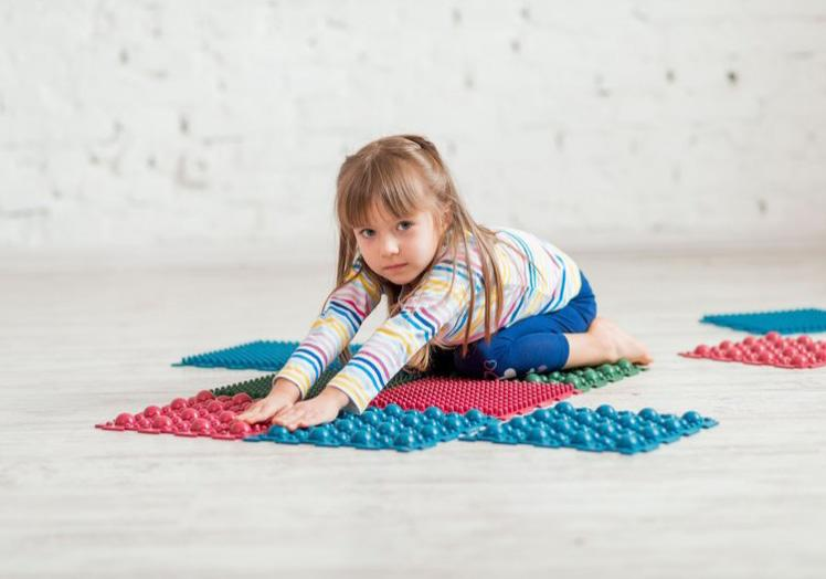 """Фото 4 Набор резиновых ковриков для ног """"Пазл"""" от Onhill"""