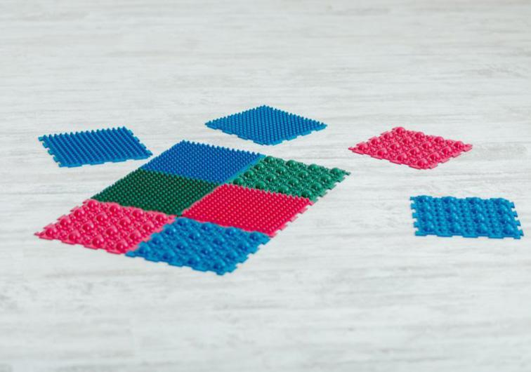 """Фото 2 Набор резиновых ковриков для ног """"Пазл"""" от Onhill"""