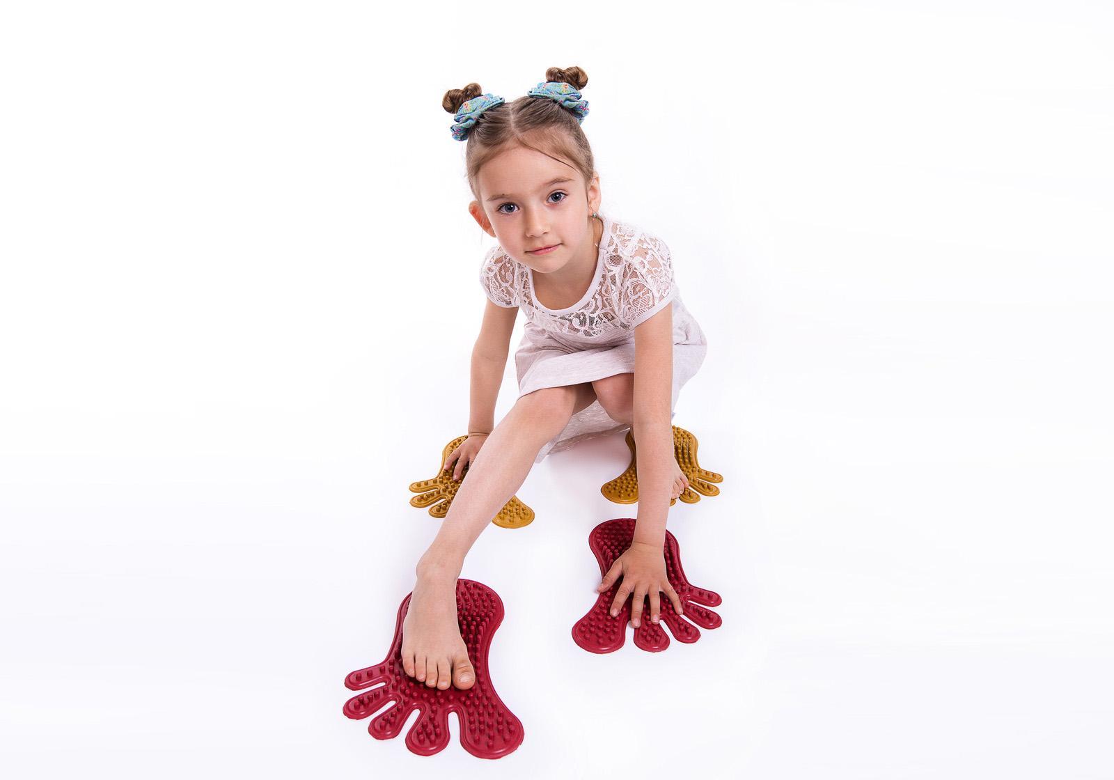 """Фото 10 Коврик массажный для ног """"Следы"""" от Onhill"""