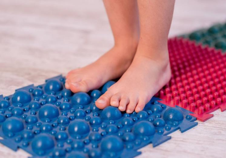 """Фото 8 Набор резиновых ковриков для ног """"Пазл"""" от Onhill"""