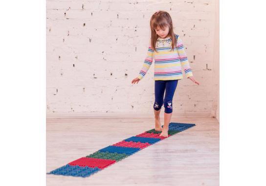 """Фото 5 Набор резиновых ковриков для ног """"Пазл"""" от Onhill"""