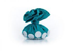 Бирюзовый мешочек Onhill с игольчатыми массажными элементами