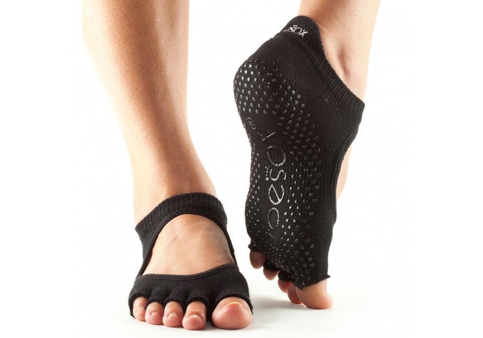 Фото Носки для йоги с открытыми пальцами