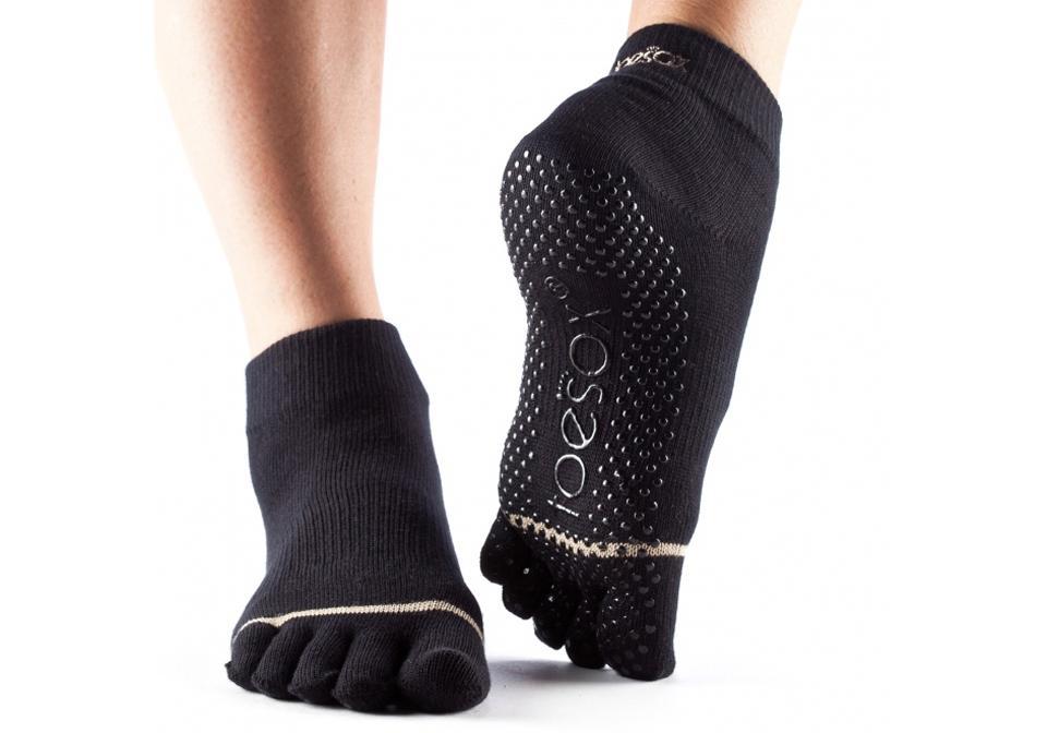 Фото Носки ToeSox Ankle для йоги и фитнеса