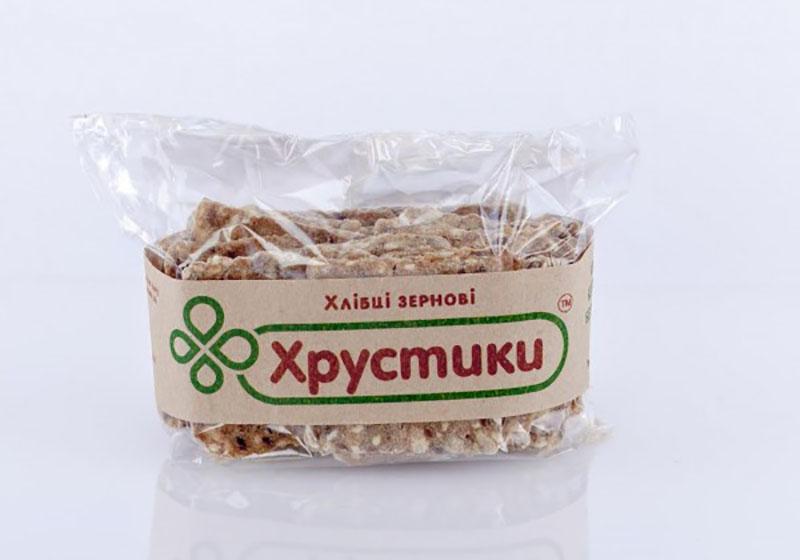 Фото Хлебцы зерновые классические 100 г