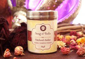 Травяной шампунь-пудра 50г Patchouli Amber