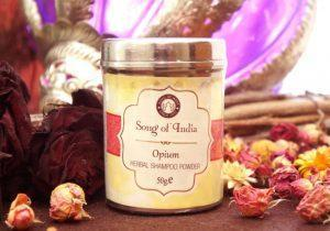 Сухой травяной шампунь Opium Song of India