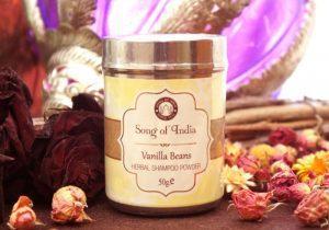 Натуральный шампунь-пудра 50г Vanilla Beans