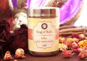Шампунь из натуральных ингредиентов Copal Lotus