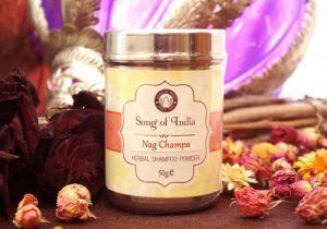 Шампунь сухой из природных компонентов 50 г Nag Champa