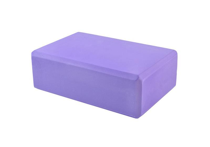 Фото 1 Блок для йоги фиолетовый