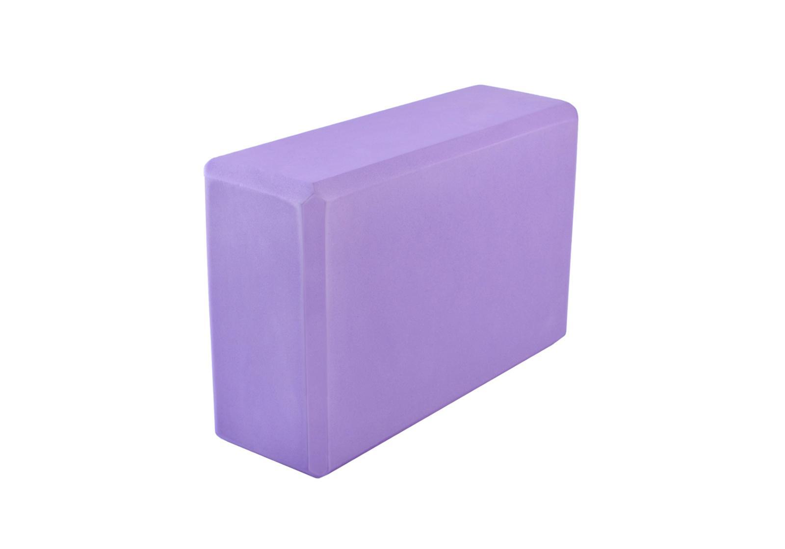 Фото Блок для йоги фиолетовый