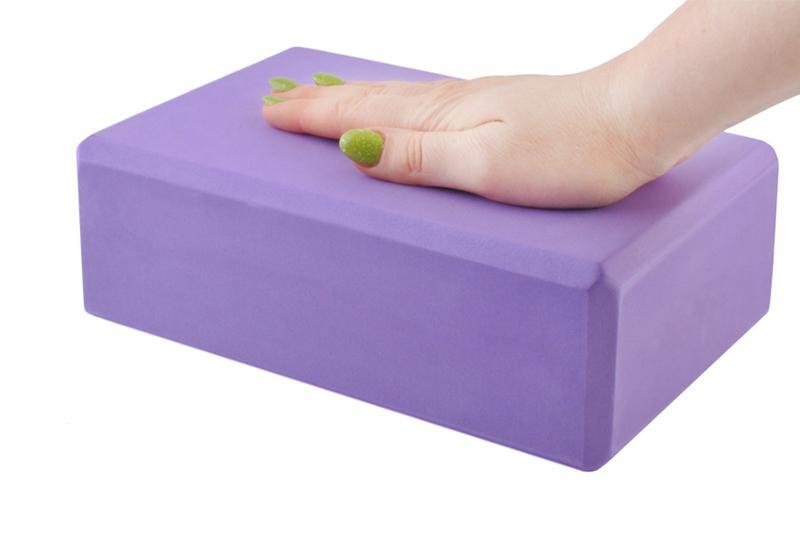 Фото 2 Блок для йоги фиолетовый