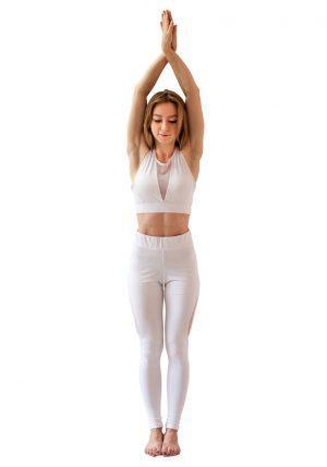 Костюм белый от RAO для йоги