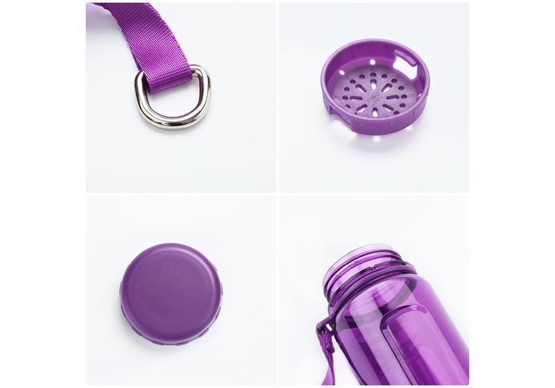 Фото 1 Бутылка для воды Uzspace 350 мл фиолетовая
