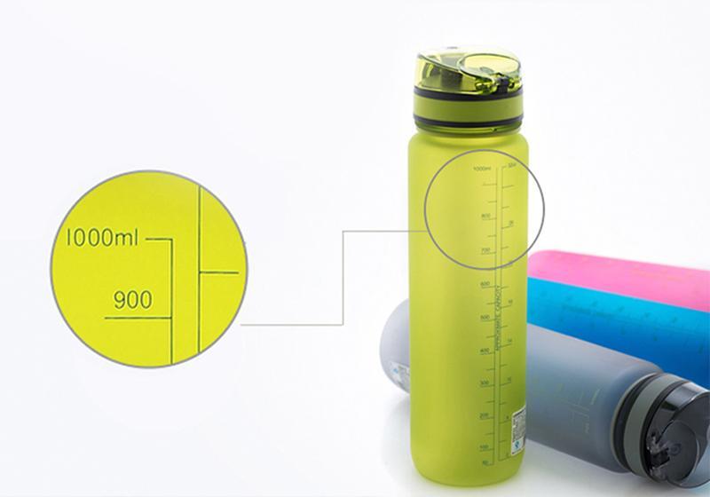 Фото 4 Бутылка для воды Uzspace 1000 мл розовая