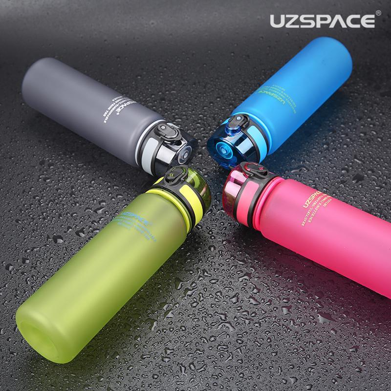 Фото 6 Бутылка для воды Uzspace 1000 мл розовая