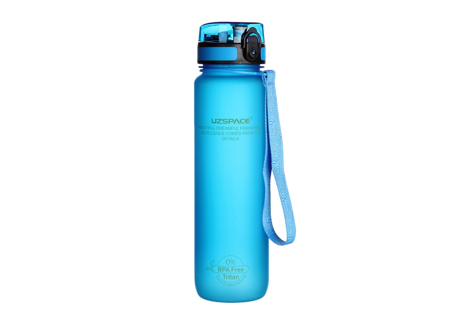 Фото 5 Бутылка для воды Uzspace 1000 мл розовая