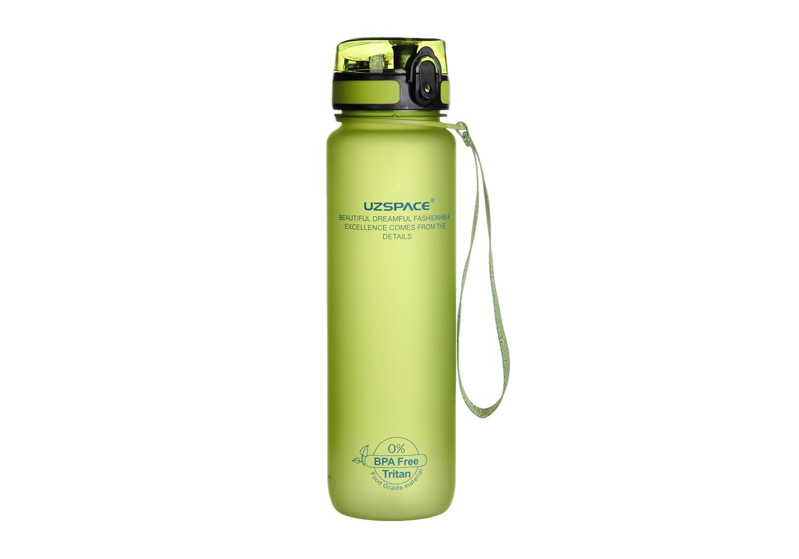 Фото Бутылка для воды Uzspace 1000 мл зеленая