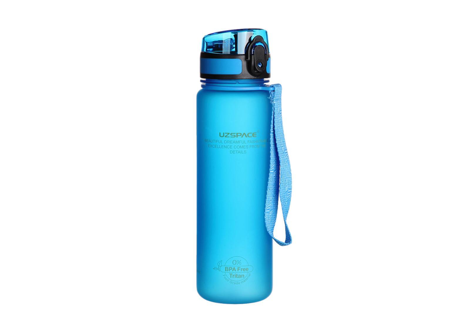 Фото Бутылка Uzspace для воды 500 мл голубая