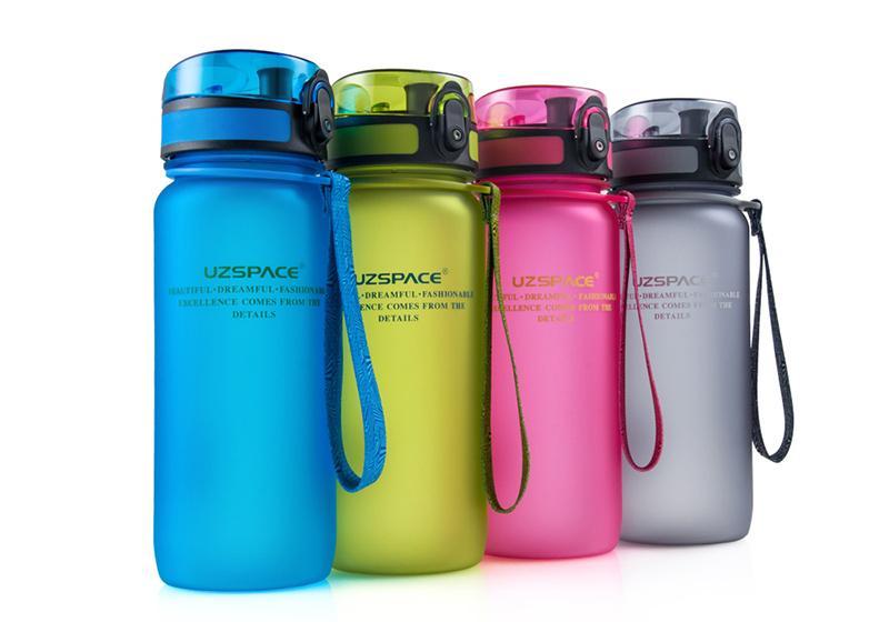 Фото 1 Бутылка для воды Uzspace 650 мл розовая