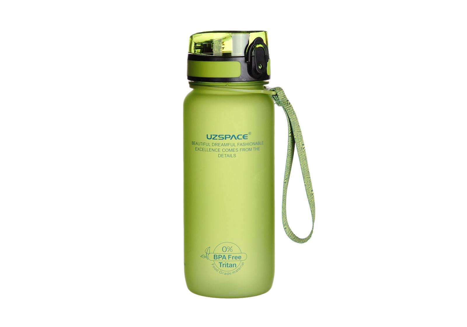 Фото 2 Бутылка для воды Uzspace 650 мл розовая
