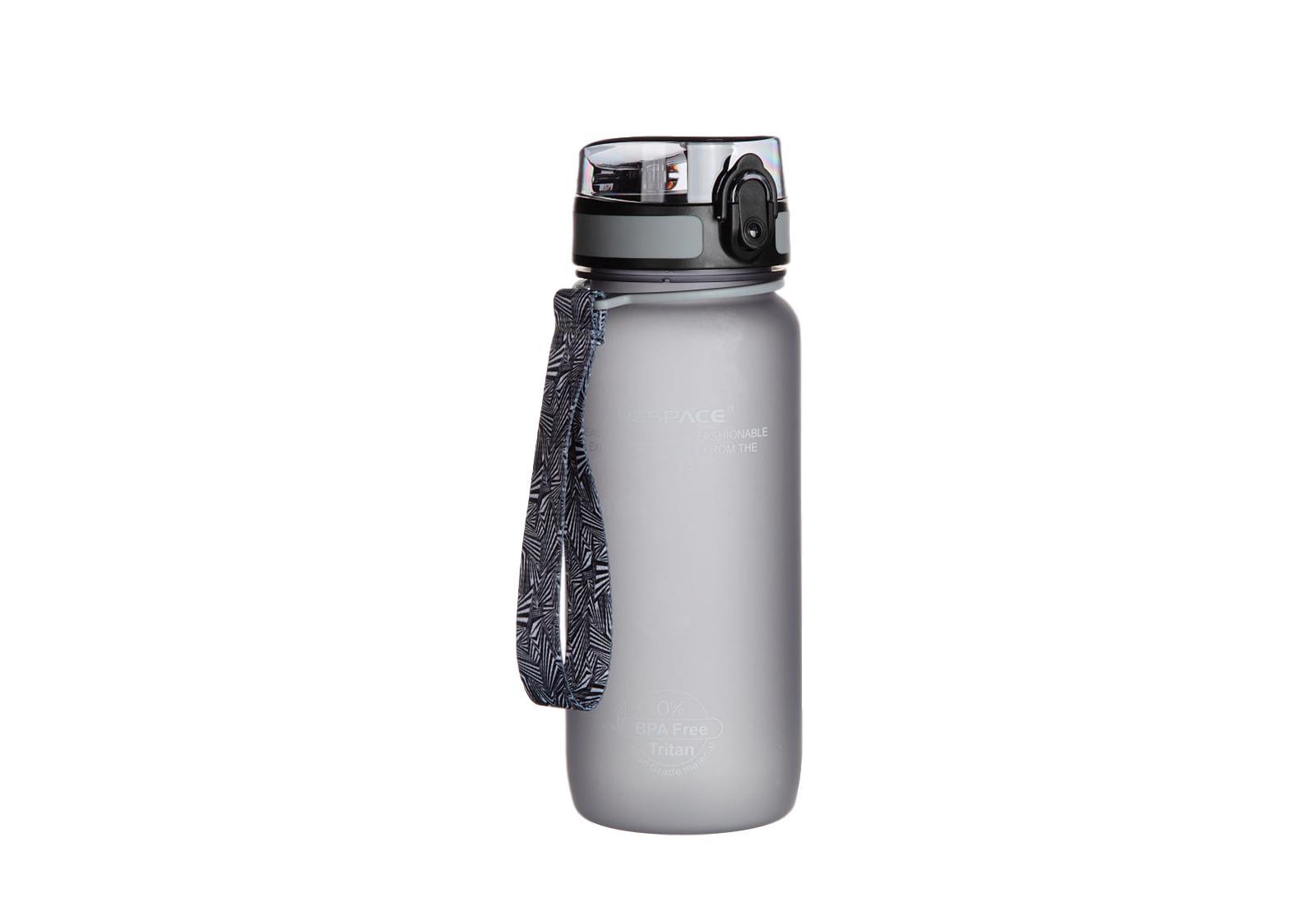 Фото 3 Бутылка для воды Uzspace 650 мл голубая