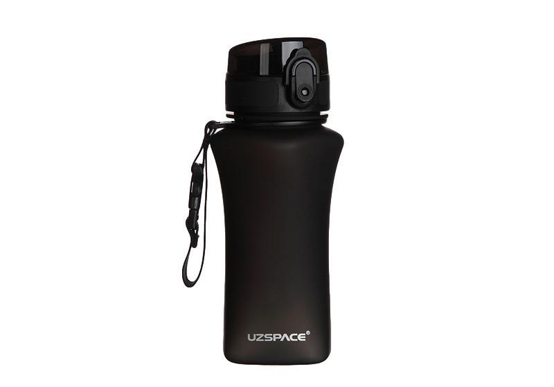 Фото Бутылка для спорта Uzspace 350 мл черная