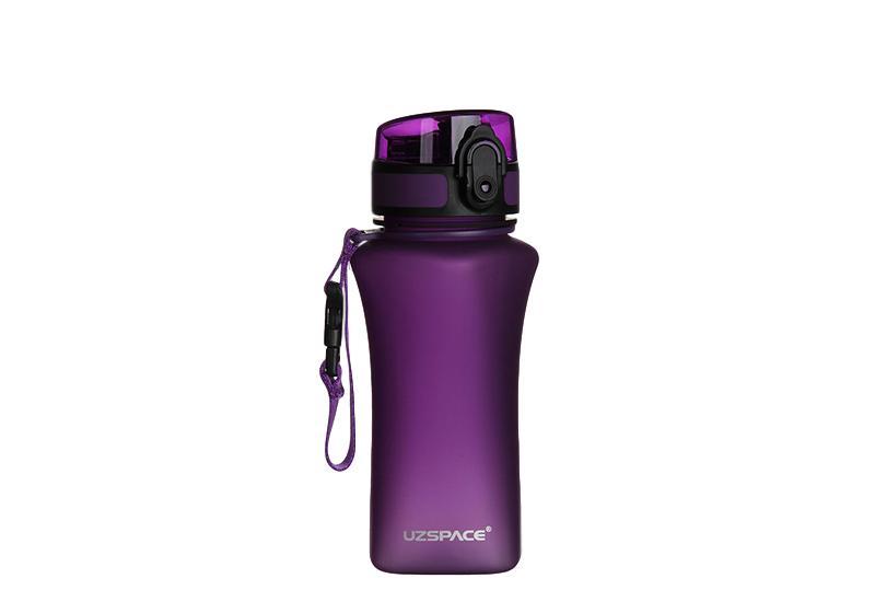 Фото Бутылка для спорта Uzspace 350 мл фиолетовая