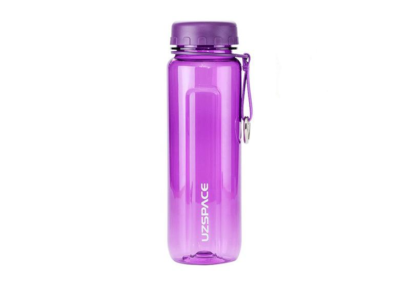 Фото Бутылка для воды Uzspace 350 мл фиолетовая