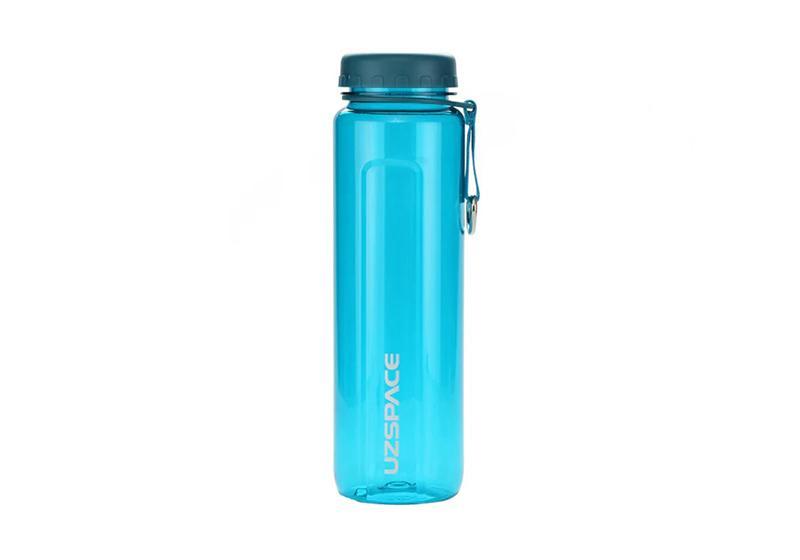 Фото Бутылка для воды Uzspace 750 мл голубая