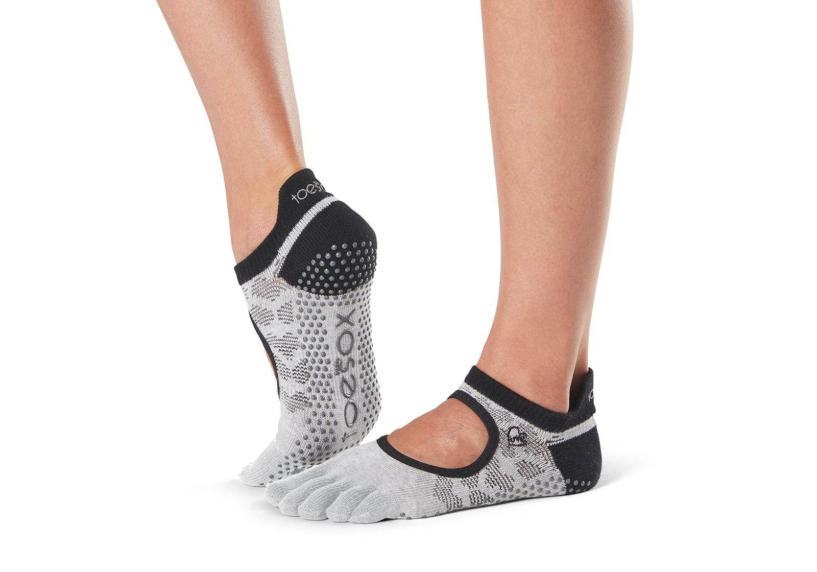 Фото Носки для йоги ToeSox Full Toe Bellarina Grip Infinite