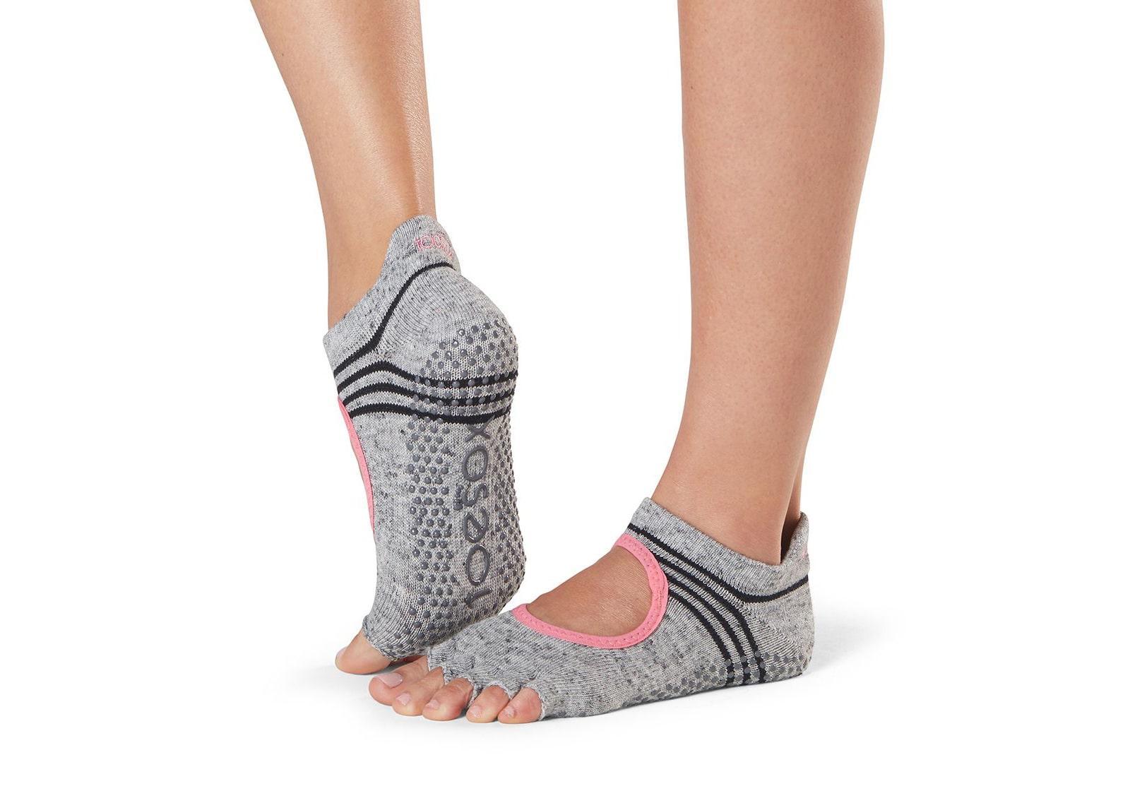 Фото Носки для йоги ToeSox Half Toe Bellarina Grip Aerobic