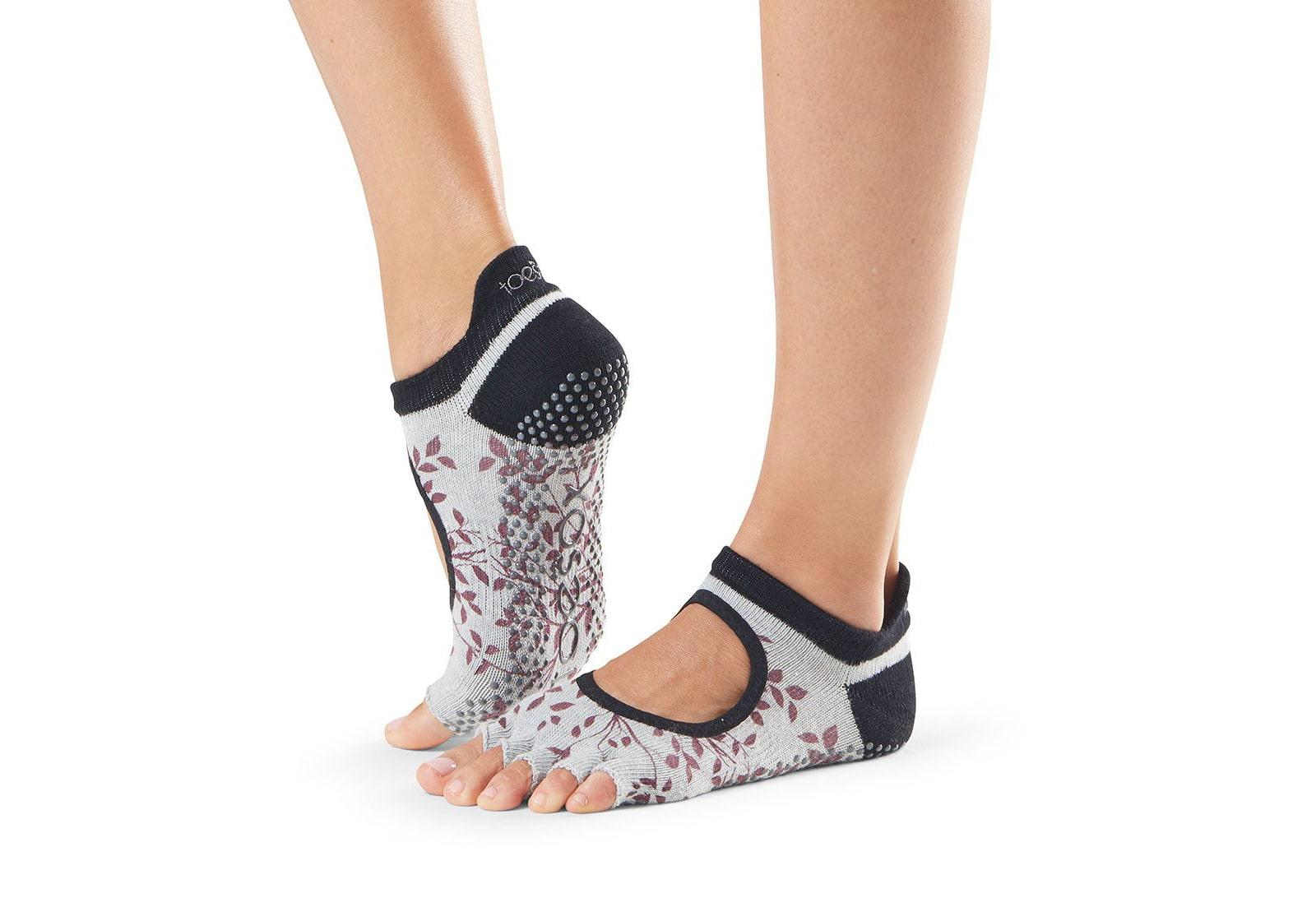 Фото Носки для йоги ToeSox Half Toe Bellarina Grip Aspen
