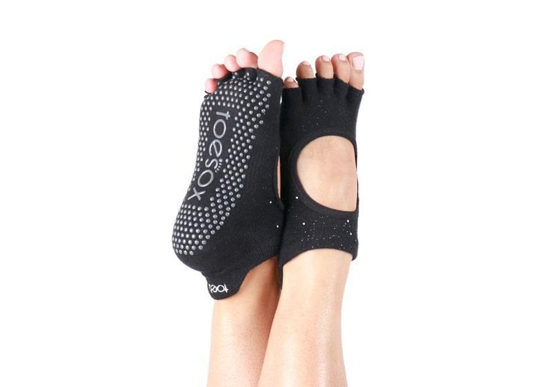 Фото Носки для йоги ToeSox Half Toe Bellarina Grip Party
