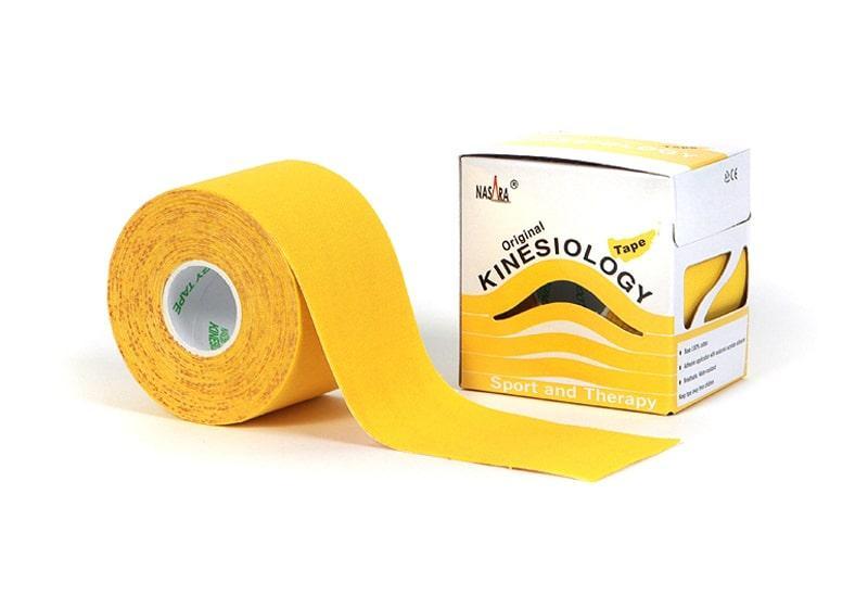 Фото Nasara Классический 5 см х 5 м желтый кинезио тейп