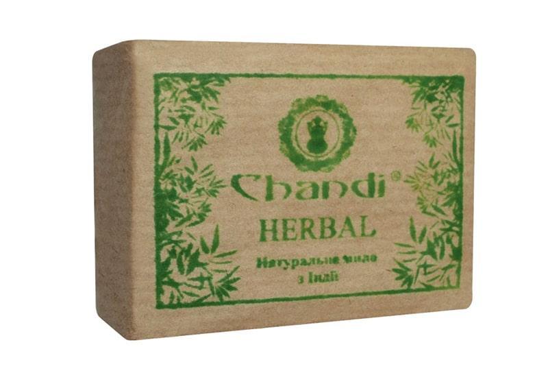 "Фото Натуральное мыло ""Травяное"" Chandi 90 г"