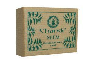 Индийское натуральное мыло 90 г NEEM Chandi