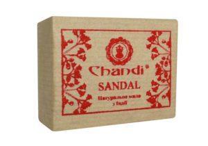 Мыло SANDAL 90 г из природных ингредиентов от Chandi