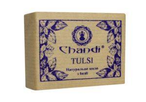 Индийское мыло Тулси Chandi из природных компонентов
