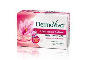 Мыло из натуральных компонентов Dermoviva 125 г отбеливающее