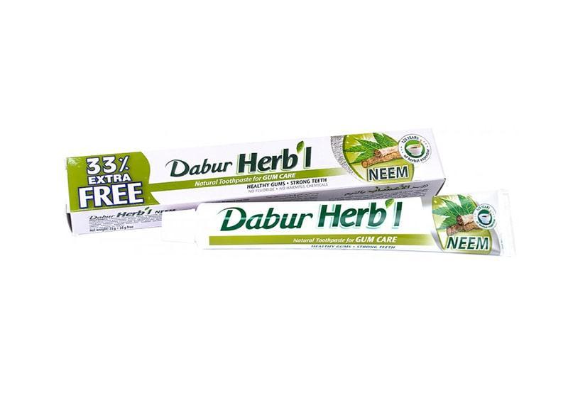 Фото Зубная паста Ним Dabur Herb'l 75+25 г