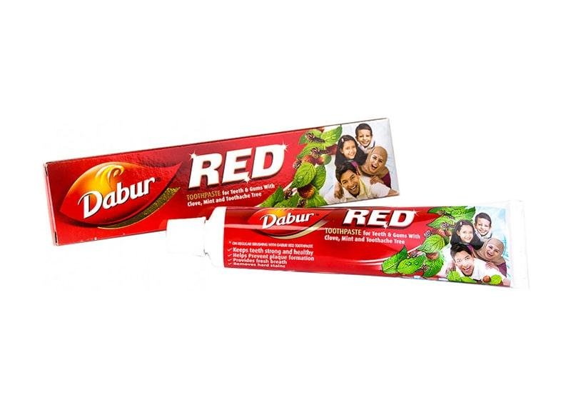 Фото Зубная паста Dabur Red 100/200 г