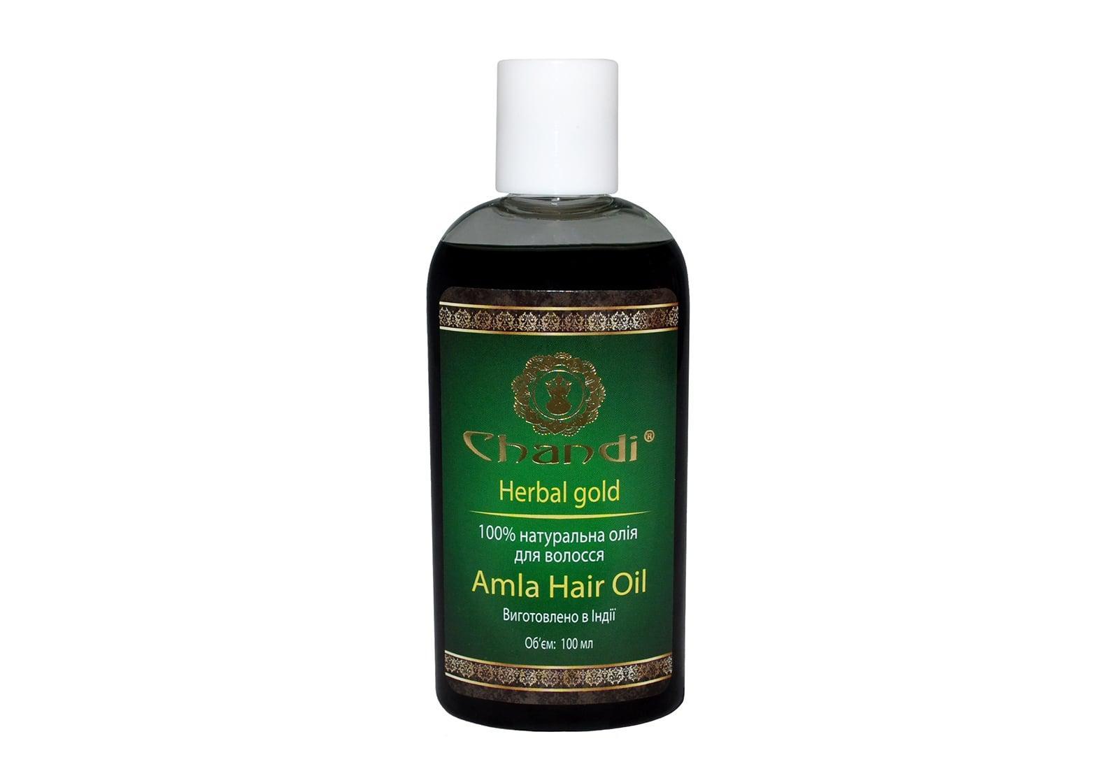 """Фото Натуральное масло для волос """"Амла"""" Chandi 100 мл"""